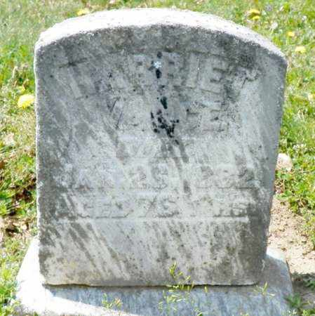VANCE, HARRIET - Shelby County, Ohio   HARRIET VANCE - Ohio Gravestone Photos
