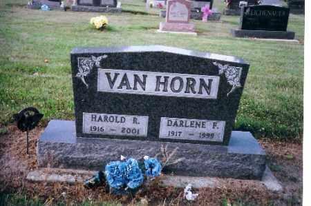 VAN HORN, HAROLD R. - Shelby County, Ohio   HAROLD R. VAN HORN - Ohio Gravestone Photos