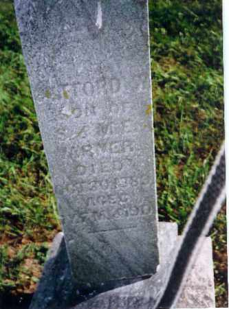 VARNER, CLIFFORD W - Shelby County, Ohio | CLIFFORD W VARNER - Ohio Gravestone Photos