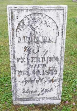 VERDIER, LUCINDA - Shelby County, Ohio | LUCINDA VERDIER - Ohio Gravestone Photos