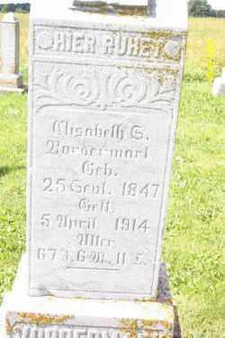 VORDERMARK, ELISABETH - Shelby County, Ohio   ELISABETH VORDERMARK - Ohio Gravestone Photos