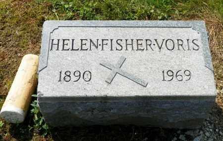 FISHER VORIS, HELEN - Shelby County, Ohio   HELEN FISHER VORIS - Ohio Gravestone Photos