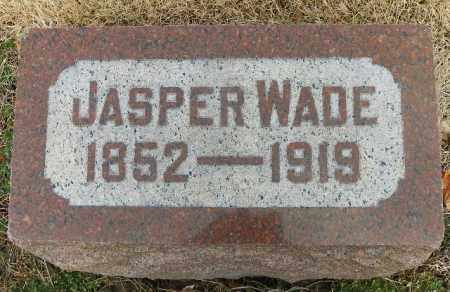 WADE, JASPER - Shelby County, Ohio   JASPER WADE - Ohio Gravestone Photos
