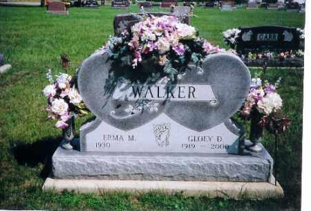 WALKER, GLOEY D. - Shelby County, Ohio | GLOEY D. WALKER - Ohio Gravestone Photos