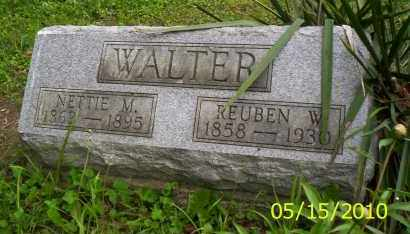 WALTER, NETTIE M. - Shelby County, Ohio | NETTIE M. WALTER - Ohio Gravestone Photos