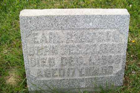WATSON, EARL P. - Shelby County, Ohio | EARL P. WATSON - Ohio Gravestone Photos