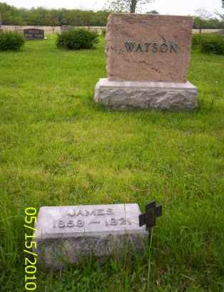 WATSON, JAMES - Shelby County, Ohio | JAMES WATSON - Ohio Gravestone Photos