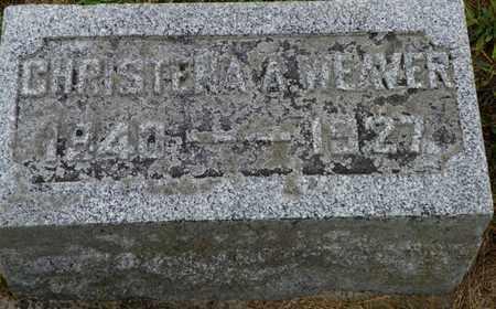 WEAVER, CHRISTENA A. - Shelby County, Ohio   CHRISTENA A. WEAVER - Ohio Gravestone Photos