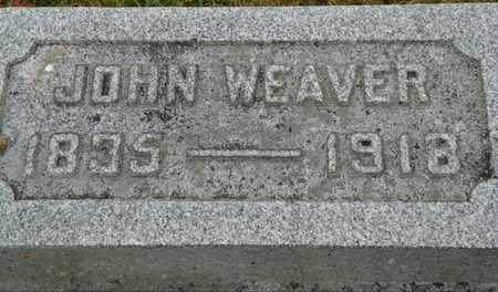 WEAVER, JOHN - Shelby County, Ohio | JOHN WEAVER - Ohio Gravestone Photos