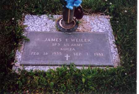 WEILER, JAMES F. - Shelby County, Ohio | JAMES F. WEILER - Ohio Gravestone Photos