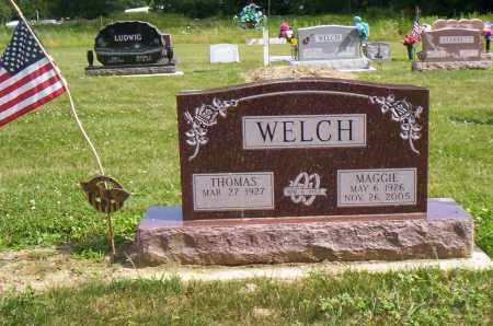 WELCH, MAGGIE - Shelby County, Ohio | MAGGIE WELCH - Ohio Gravestone Photos