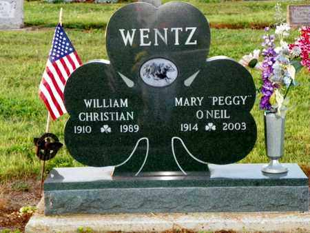 WENTZ, WILLIAM CHRISTIAN - Shelby County, Ohio | WILLIAM CHRISTIAN WENTZ - Ohio Gravestone Photos