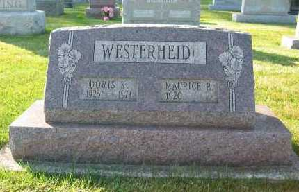 WESTERHEIDE, DORIS - Shelby County, Ohio | DORIS WESTERHEIDE - Ohio Gravestone Photos