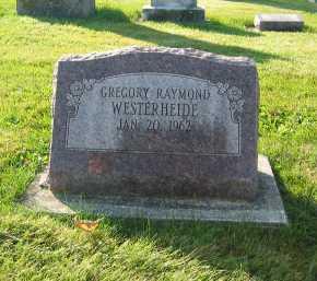 WESTERHEIDE, GREGORY RAYMOND - Shelby County, Ohio   GREGORY RAYMOND WESTERHEIDE - Ohio Gravestone Photos
