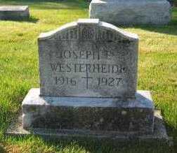 WESTERHEIDE, JOSEPH - Shelby County, Ohio | JOSEPH WESTERHEIDE - Ohio Gravestone Photos