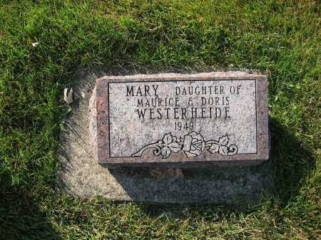 WESTERHEIDE, MARY - Shelby County, Ohio | MARY WESTERHEIDE - Ohio Gravestone Photos