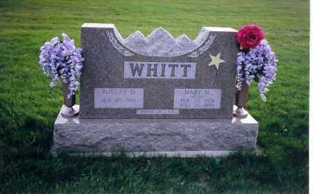 WHITT, AUDLEY D. - Shelby County, Ohio | AUDLEY D. WHITT - Ohio Gravestone Photos