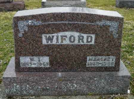 WIFORD, MARGARET - Shelby County, Ohio | MARGARET WIFORD - Ohio Gravestone Photos