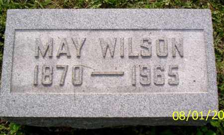 WILSON, MAY - Shelby County, Ohio   MAY WILSON - Ohio Gravestone Photos