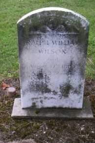 WILSON, RALPH WILLIAM - Shelby County, Ohio | RALPH WILLIAM WILSON - Ohio Gravestone Photos