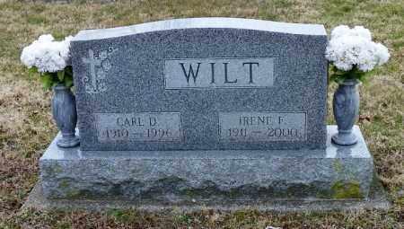 WILT, IRENE F. - Shelby County, Ohio | IRENE F. WILT - Ohio Gravestone Photos