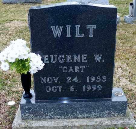 WILT, EUGENE W. - Shelby County, Ohio | EUGENE W. WILT - Ohio Gravestone Photos