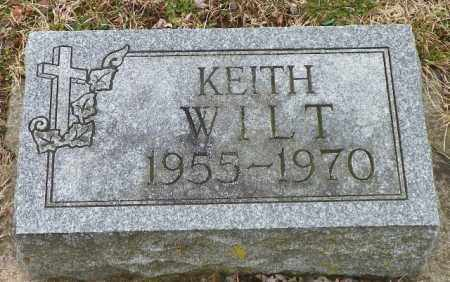 WILT, KEITH - Shelby County, Ohio | KEITH WILT - Ohio Gravestone Photos