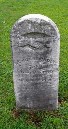 WINDLE, HENRY L. - Shelby County, Ohio | HENRY L. WINDLE - Ohio Gravestone Photos