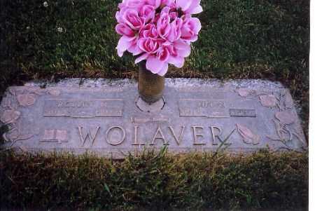 WOLAVER, ROBERT - Shelby County, Ohio   ROBERT WOLAVER - Ohio Gravestone Photos