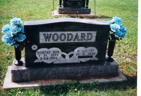 WOODARD, LOUISE - Shelby County, Ohio | LOUISE WOODARD - Ohio Gravestone Photos