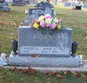 WORK, JOYCE A. - Shelby County, Ohio | JOYCE A. WORK - Ohio Gravestone Photos