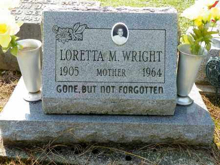 WRIGHT, LORETTA M. - Shelby County, Ohio | LORETTA M. WRIGHT - Ohio Gravestone Photos