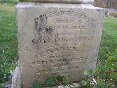 WRIGHT, PETER - Shelby County, Ohio   PETER WRIGHT - Ohio Gravestone Photos