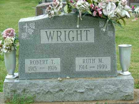 WRIGHT, ROBERT THOMAS - Shelby County, Ohio | ROBERT THOMAS WRIGHT - Ohio Gravestone Photos