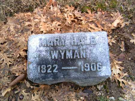 HALE WYMAN, MARY - Shelby County, Ohio | MARY HALE WYMAN - Ohio Gravestone Photos
