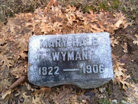 WYMAN, MARY - Shelby County, Ohio | MARY WYMAN - Ohio Gravestone Photos