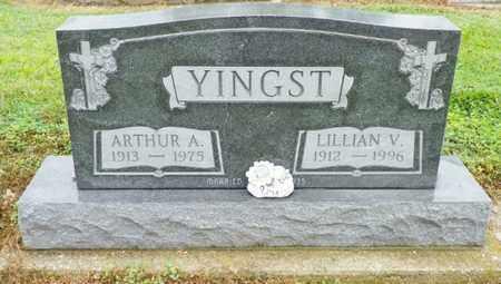 YINGST, LILLIAN V. - Shelby County, Ohio   LILLIAN V. YINGST - Ohio Gravestone Photos