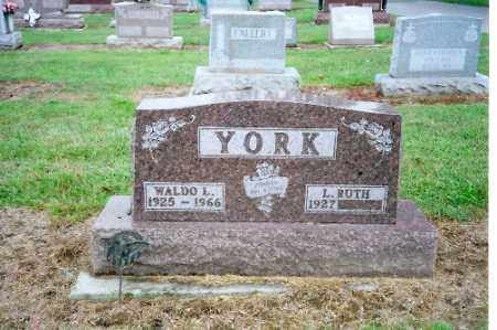 YORK, L. RUTH - Shelby County, Ohio | L. RUTH YORK - Ohio Gravestone Photos