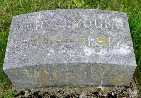 YOUNG, MARY J. - Shelby County, Ohio | MARY J. YOUNG - Ohio Gravestone Photos