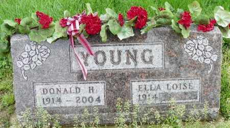 YOUNG, ELLA LOISE - Shelby County, Ohio | ELLA LOISE YOUNG - Ohio Gravestone Photos