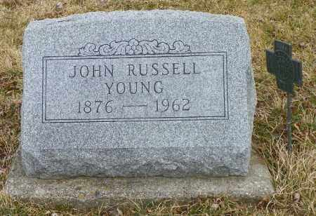YOUNG, JOHN RUSSELL - Shelby County, Ohio | JOHN RUSSELL YOUNG - Ohio Gravestone Photos