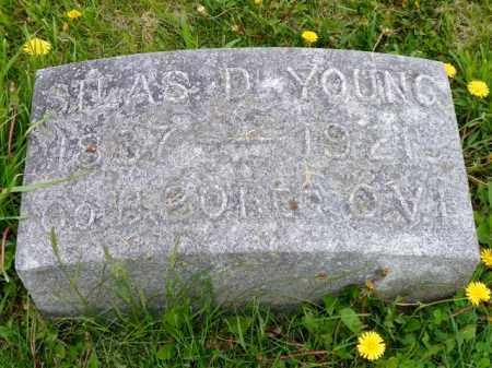 YOUNG, SILAS D. - Shelby County, Ohio | SILAS D. YOUNG - Ohio Gravestone Photos