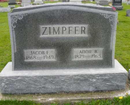 ZIMPFER, ADDIE B. - Shelby County, Ohio | ADDIE B. ZIMPFER - Ohio Gravestone Photos