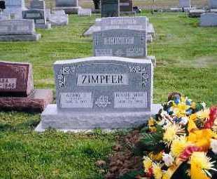 ZIMPFER, AUDREY - Shelby County, Ohio | AUDREY ZIMPFER - Ohio Gravestone Photos