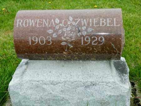 ZWIEBEL, ROWENA C - Shelby County, Ohio | ROWENA C ZWIEBEL - Ohio Gravestone Photos