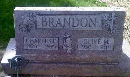 BRANDON, OLIVE MAE - Stark County, Ohio | OLIVE MAE BRANDON - Ohio Gravestone Photos