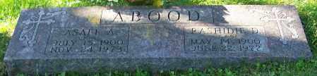 ABOOD, ASAFFE A. - Stark County, Ohio | ASAFFE A. ABOOD - Ohio Gravestone Photos