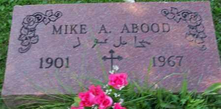 ABOOD, MIKE A. - Stark County, Ohio   MIKE A. ABOOD - Ohio Gravestone Photos