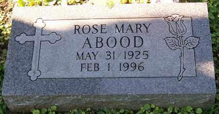 ABOOD, ROSE MARY - Stark County, Ohio | ROSE MARY ABOOD - Ohio Gravestone Photos