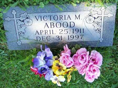 ABOOD, VICTORIA M. - Stark County, Ohio   VICTORIA M. ABOOD - Ohio Gravestone Photos